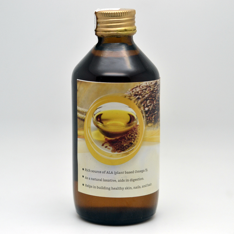 Cold Pressed Flax Seed Oil